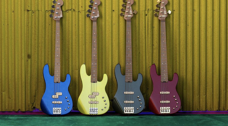 Charvel Pro-Mod San Dimas Bass PJ IV and Pro-Mod San Dimas Bass JJ V