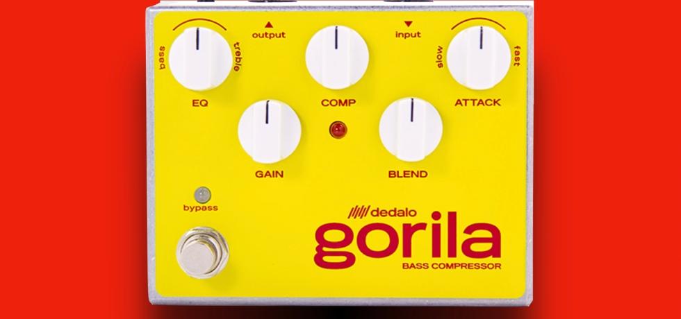 Dedalo FX Gorila GOR-4 optical bass compressor