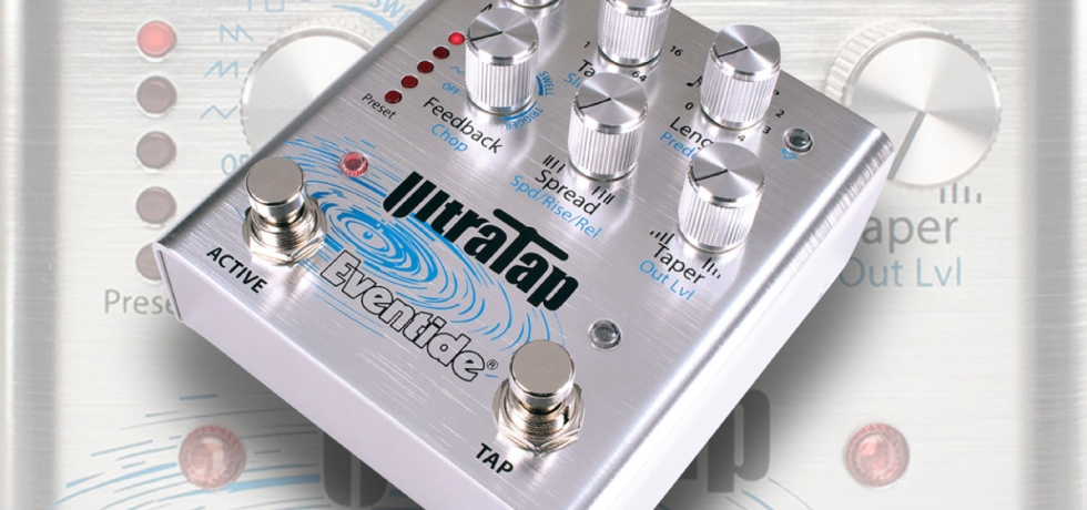 Eventide UltraTap delay pedal