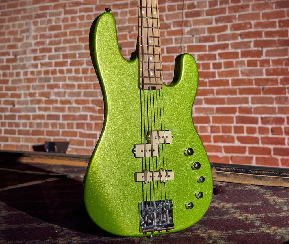 Pro-Mod San Dimas Bass PJ IV in Lime Green Metallic