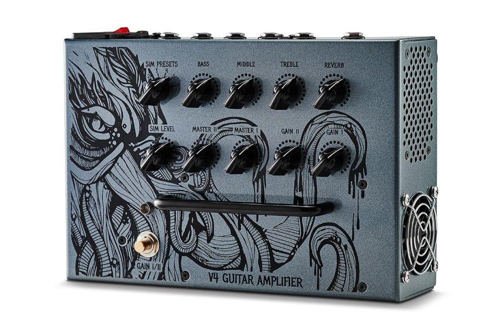 Victory V4 Kraken pedal with 180-Watt Class-D amp