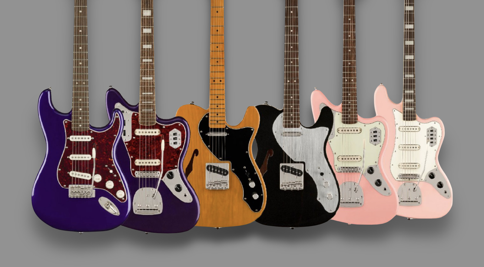 CME & Andertons launch exclusive Squier Classic Vibe models