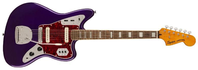 Squier Classic Vibe '70s Jaguar In Purple Metallic