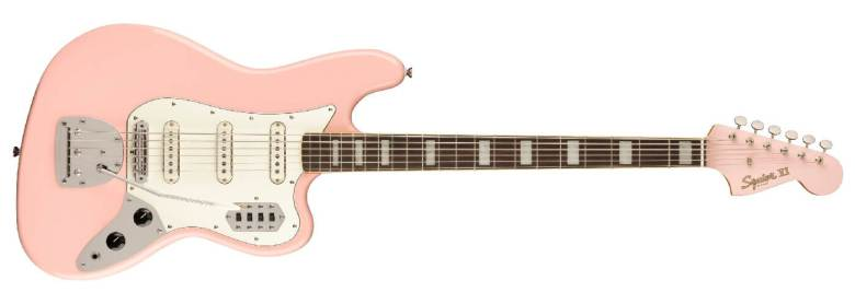 Squier Classic Vibe Bass VI In Shell Pink