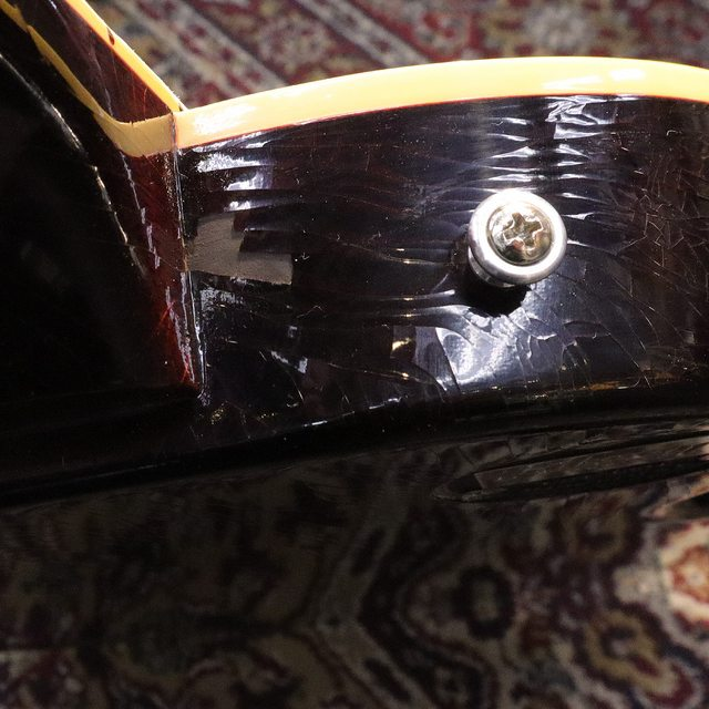 Another Gibson Murphy Labs finish issue