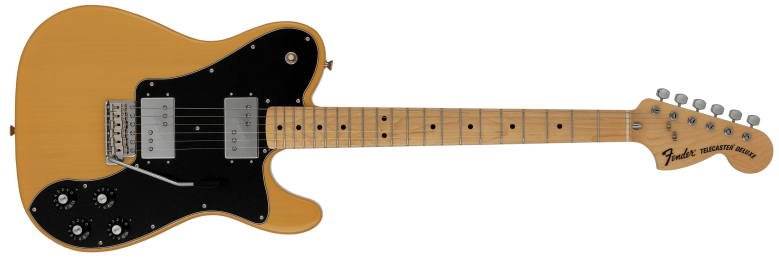 Limited 70s Telecaster Deluxe in Butterscotch