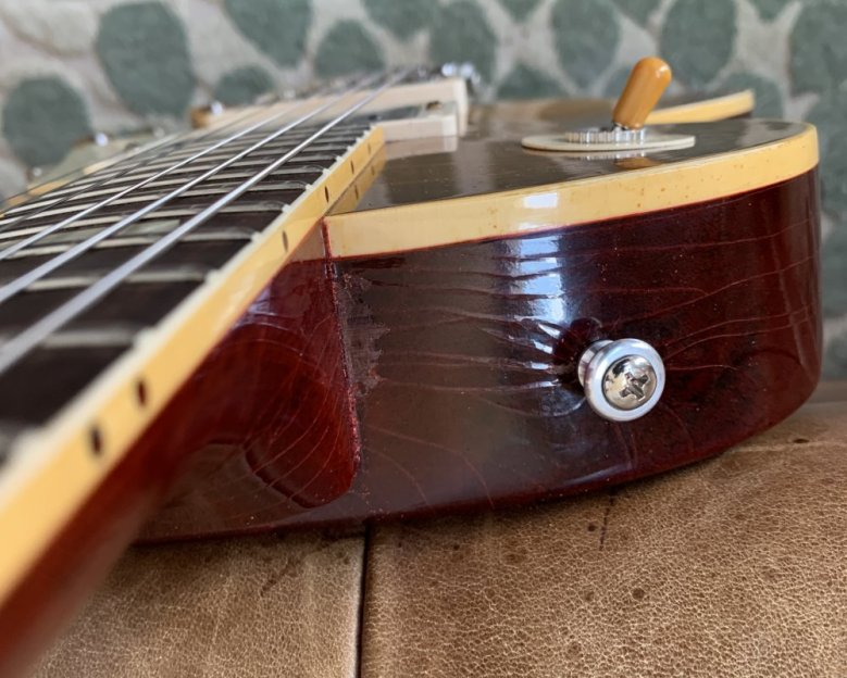 Gibson Murphy Lab finish issue