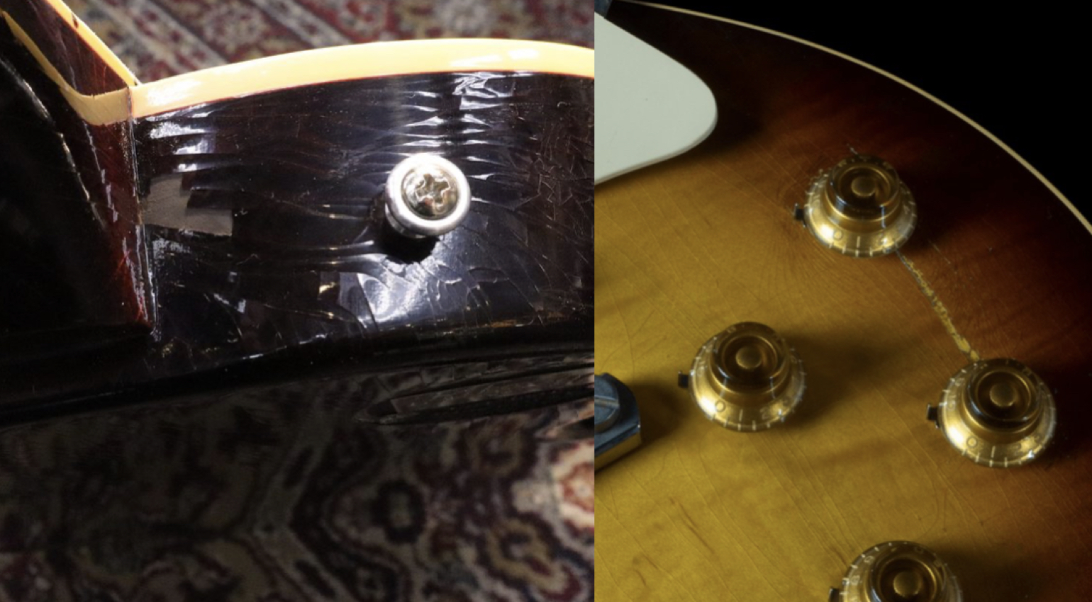 Gibson Murphy Labs finish falling off?