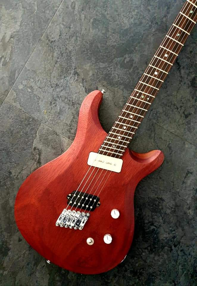 Loxley Custom Guitars multic-scale neck 25-26.5