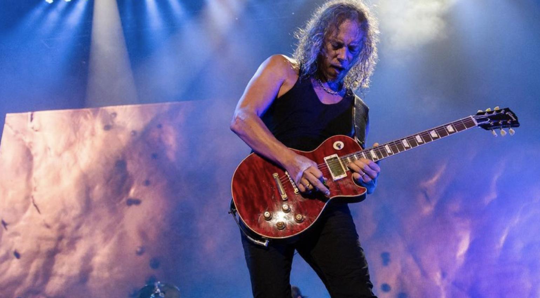 Kirk Hammett joins Gibson