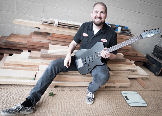 Manson Guitar Works' Tim Stark