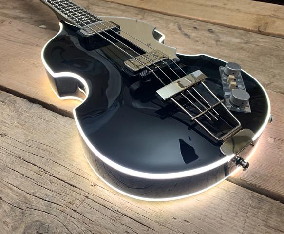 Matt Bellamy's custom Manson 'Beatle bass'